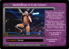 <i>Revolution</i> Daniel Bryan is In My Corner!